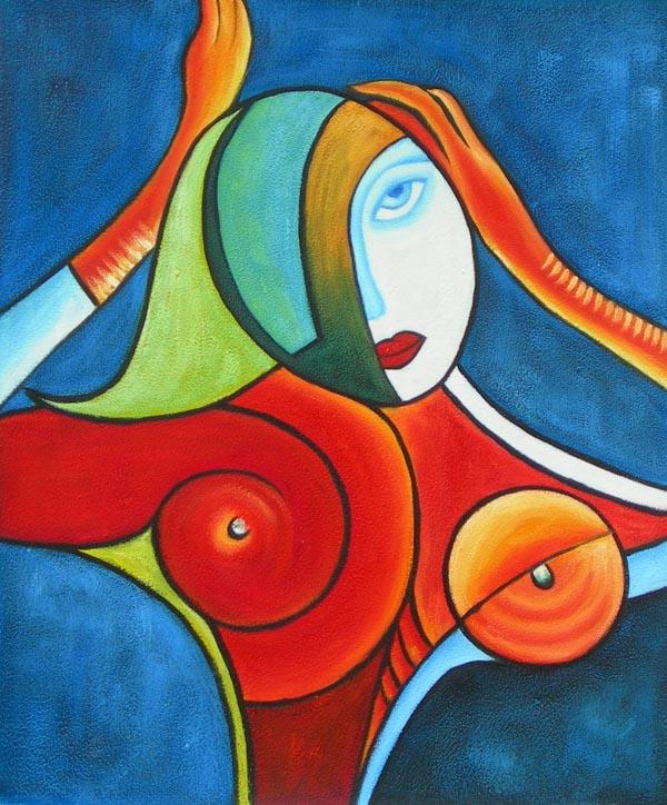 tableau moderne figuratif