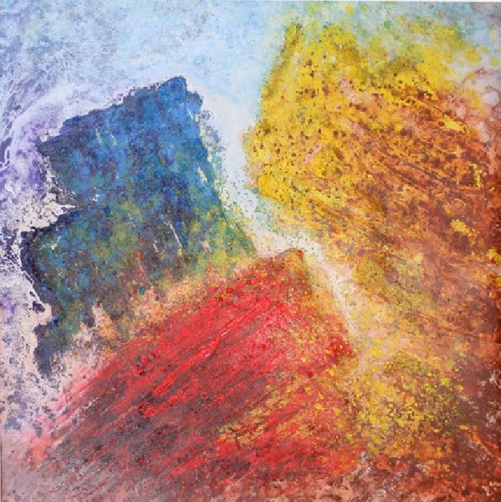 Tableau abstrait chaud froid vente de tableaux abstraits - Vente tableau abstrait ...