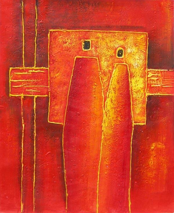 Tableau ethnique 3426 e tableaux et3426 tableau contemporain moderne vente - Tableau ethnique contemporain ...